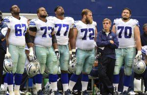 Linea Ofensiva Dallas Cowboys