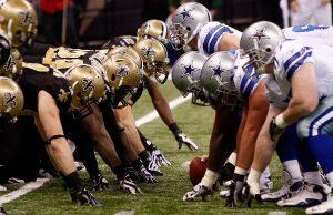 Cowboys vs Saints